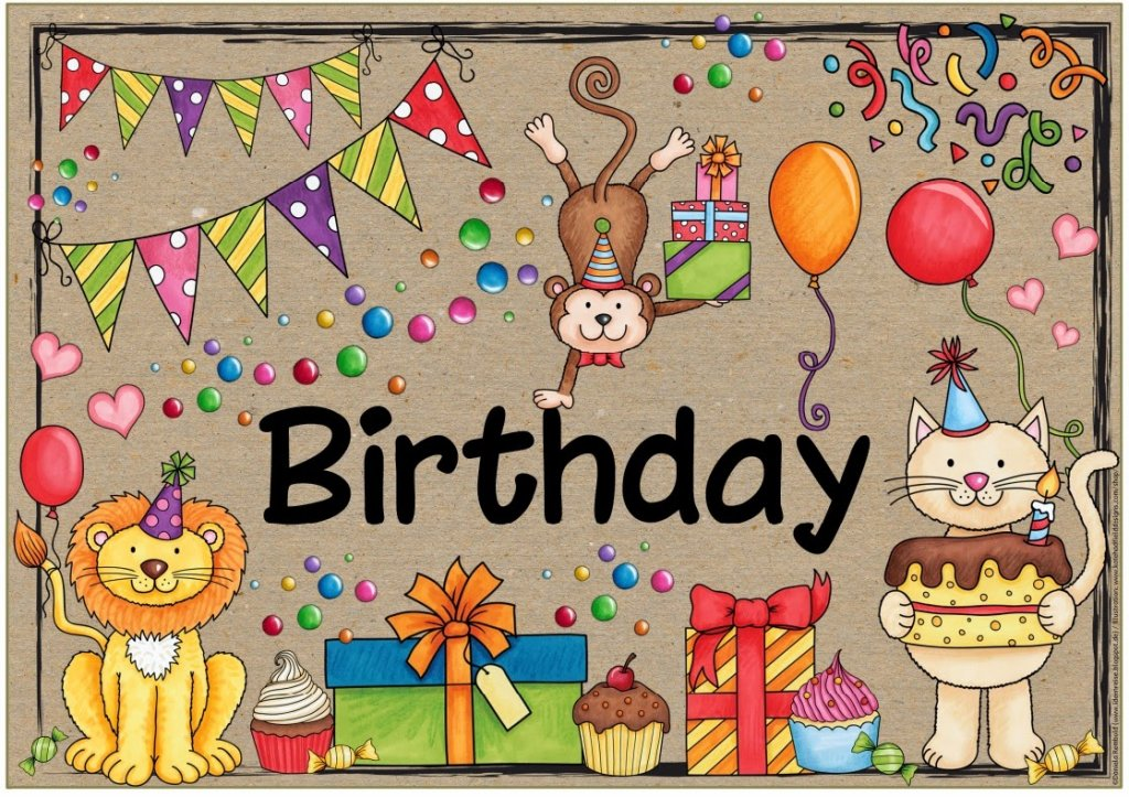 Ideenreise Blog Plakat Birthday Special Days