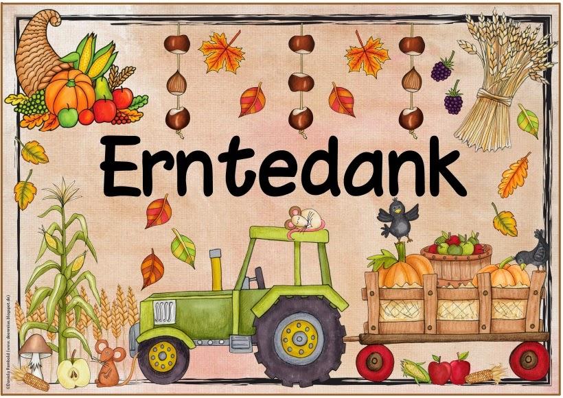 Ideenreise blog weitere plakate feiertage festtage for Herbst im kindergarten
