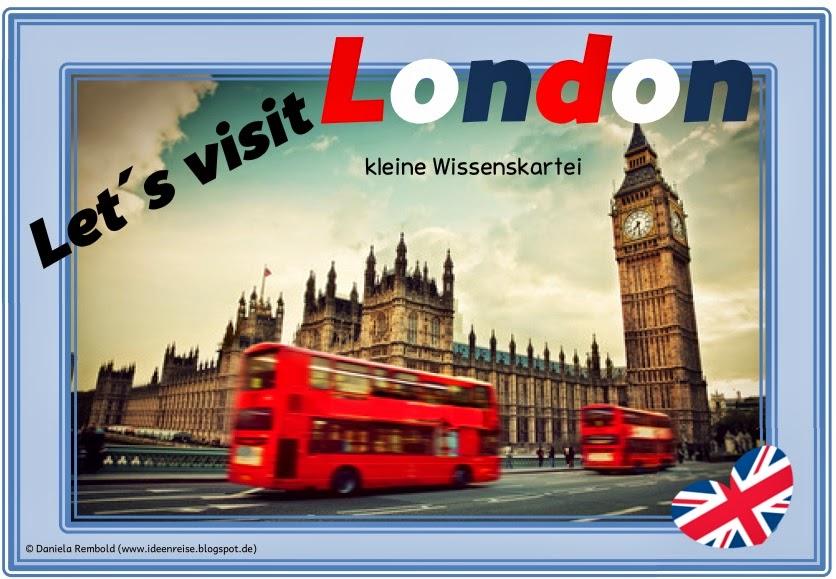 Ideenreise Blog Kleine Wissenskartei Lets Visit London