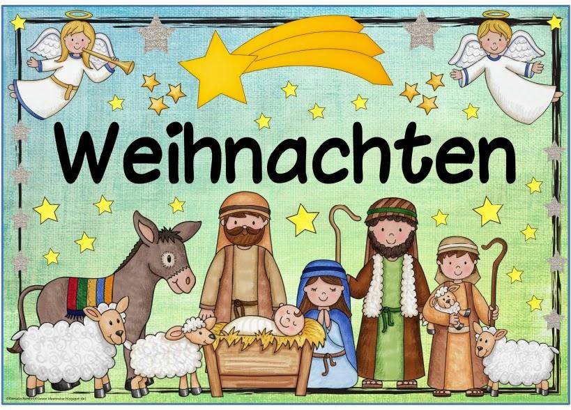 Weihnachtsgrüße Grundschule.Ideenreise Blog Plakat Weihnachten