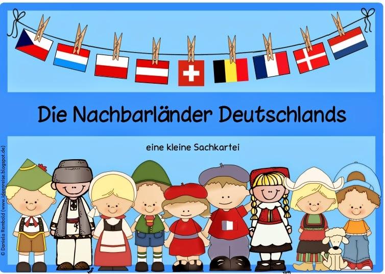 Ideenreise Blog Kleine Sachkartei Die Nachbarlander Deutschlands