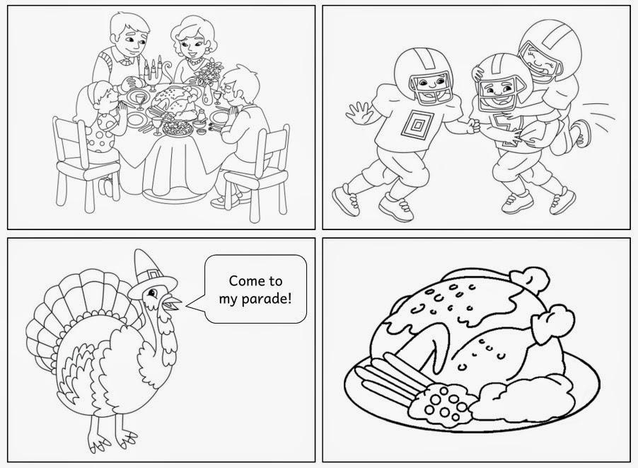 Thanksgiving modern (Arbeitsblatt) | Ideenreise - Blog