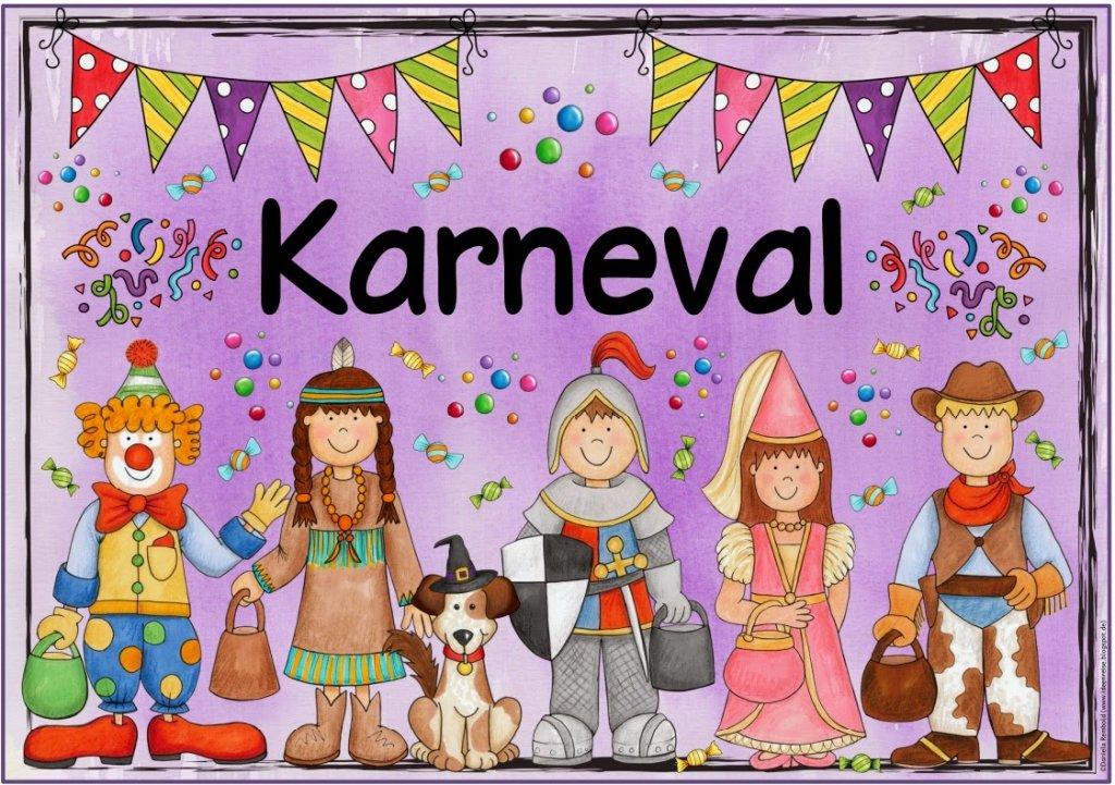 Ideenreise Blog Themenplakat Fasching Karneval