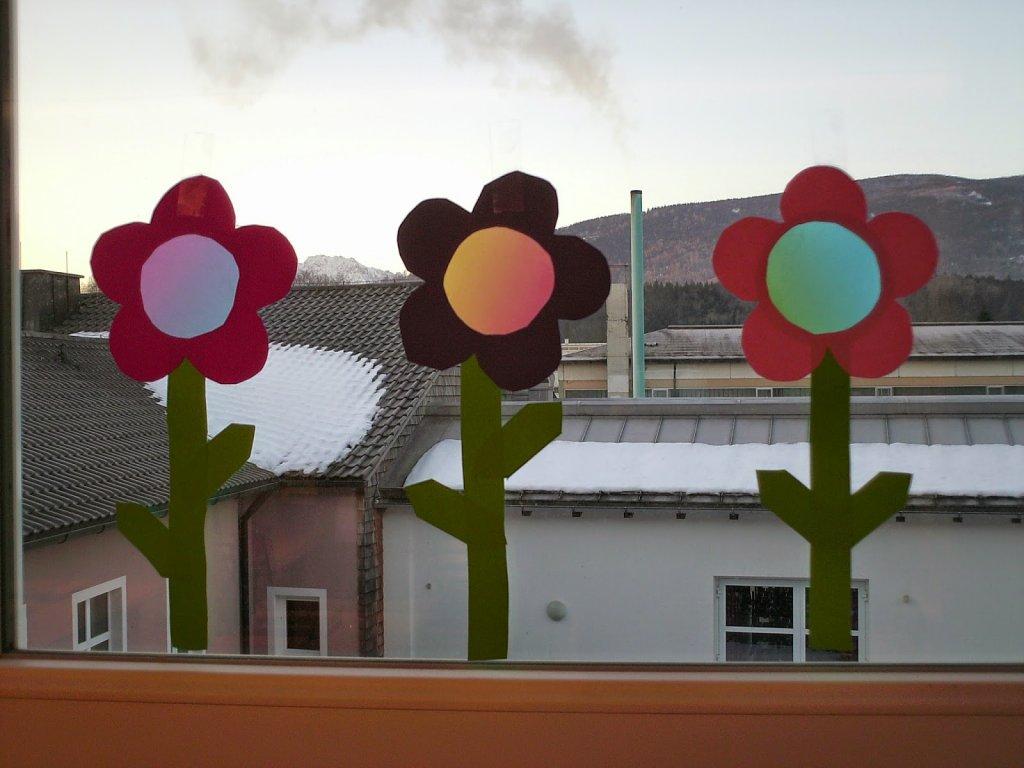 """Bastelvorlagen """"Frühlingsblumen"""